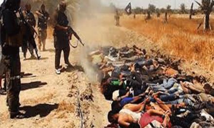 ابرز الاعدامات الجماعية التي نفذتها داعش