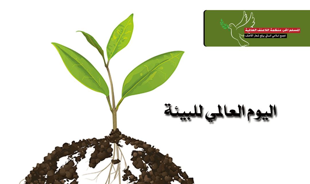 بيان منظمة اللاعنف العالمية في اليوم العالمي للبيئة