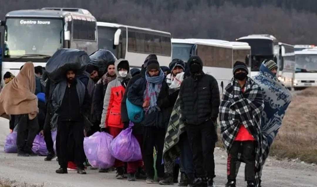 منظمة المسلم الحر تناشد المفوضية العليا لحقوق اللاجئين إسعاف لاجئي مخيم مدينة بهيج في البوسنة