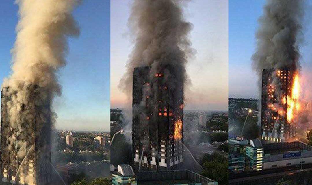 سازمان جهانی نفی خشونت: تلاش مسلمانان برای نجات ساکنان برج گرینفل لندن ستودنی است