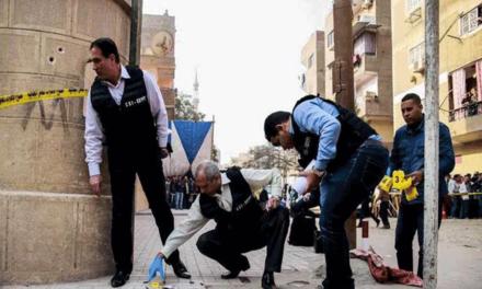 سازمان جهانی نفی خشونت حمله ی تروریستی علیه شرکت کنندگان در مراسم دینی کلیسای مارمینای مصر را محکوم کرد