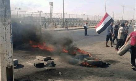 سازمان جهانی نفی خشونت: شهر بصره منطقه مصیبت زده اعلام شود