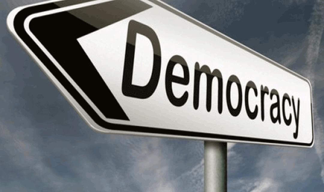 فراخوان سازمان جهانی نفی خشونت برای نهادینه کردن جنبش دموکراسی در جهان