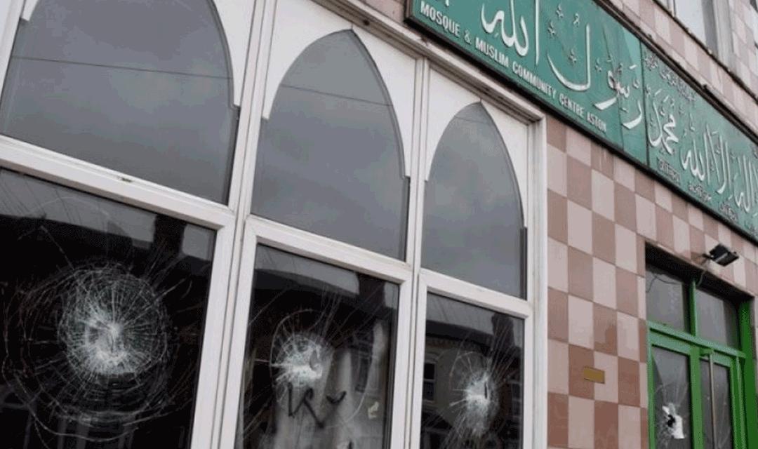 سازمان جهانی نفی خشونت حمله به مساجد شهر بیرمنگام انگلستان را محکوم کرد