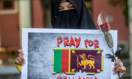 سازمان جهانی نفی خشونت: عملیات تروریستی بر ضد مردم بی دفاع سریلانکا را به شدت محکوم می کنیم