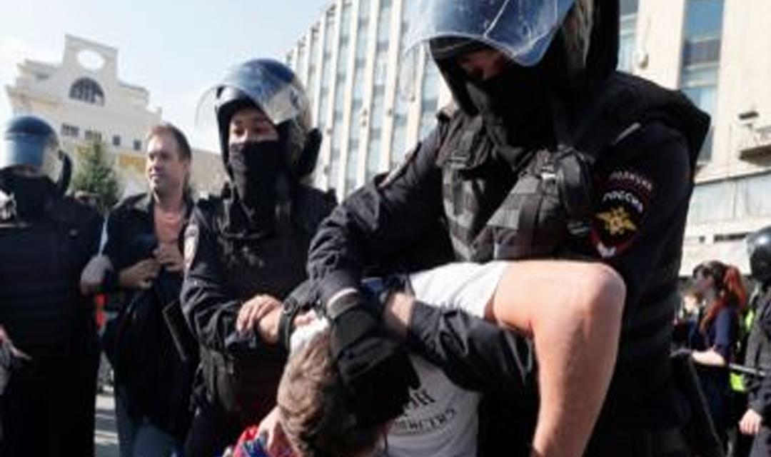 سازمان جهانی نفی خشونت: دولت روسیه بازداشت شدگان را آزاد کند