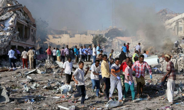 سازمان جهانی نفی خشونت: انفجار موگادیشو را محکوم می کنیم و از جامعه جهانی می خواهیم که به یاری این کشور بشتابد