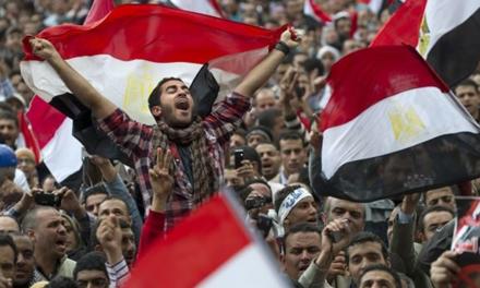 پیام سازمان جهانی نفی خشونت به مناسبت نهمین سالگرد انقلاب ۲۵ ژانویه مردم مصر