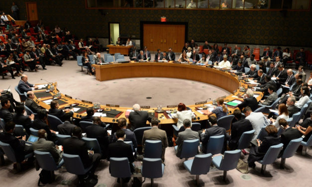 Security Council Debate at the United Nations