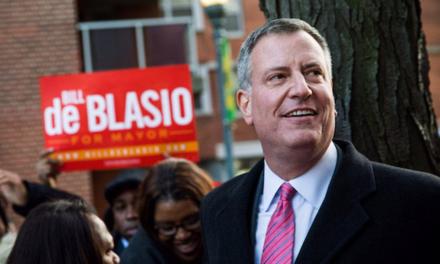 Letter to New York Mayor Bill De Blasio