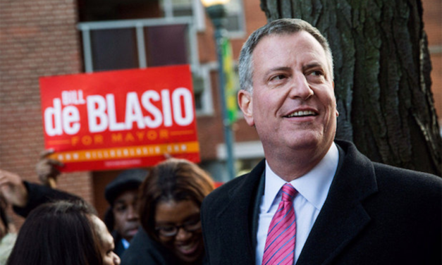 Letter to New York Mayor Bill De Blasio