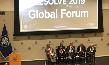 RESOLVE 2019; Resetting Priorities to Address Violent Extremist Threats