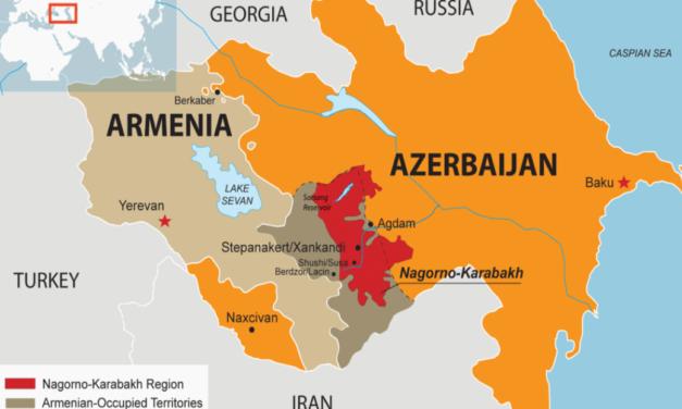 Conflict on the Armenia and Azerbaijan border