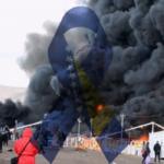 Migrants Lose Shelter After Fire Destroys Camp
