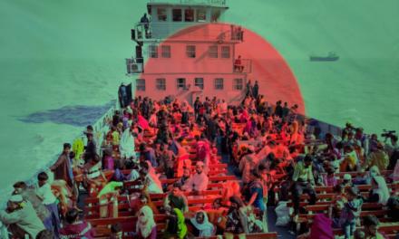 1700 Rohingya Sent to Isolated Island