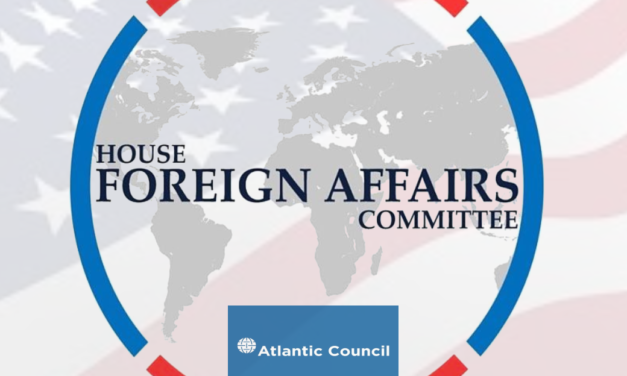 Conversation with Chairman of the United States House Foreign Affairs Committee